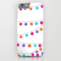 Circle Bunting iPhone 6 Slim Case