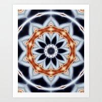 Abstract 81 Mandala Art Print