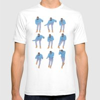 Hotline bling Mens Fitted Tee White SMALL