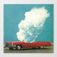 RED CAR 2 (2011) Canvas Print