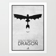 How To Train Your Dragon… Art Print