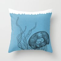 meduza  Throw Pillow