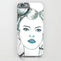 iPhone & iPod Case featuring Libra by Cannibal Malabar