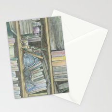 RHX Bookshelf Logo Stationery Cards
