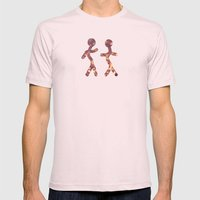 Mingle Mens Fitted Tee Light Pink SMALL