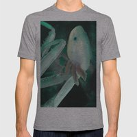 Axolante Mens Fitted Tee Athletic Grey SMALL