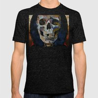 Grim Reaper Mens Fitted Tee Tri-Black SMALL