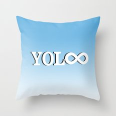 You Only Live Forever—Part II Throw Pillow