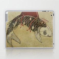 Koi Shark Fin 02 Laptop & iPad Skin