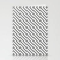 IJzerman Black & White Pattern Stationery Cards