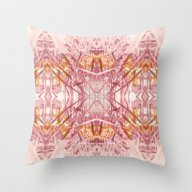 Violet Garden Throw Pillow