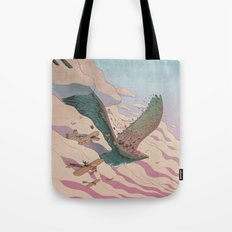 The ancient eagle Tote Bag