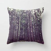 Neck Pain Throw Pillow