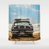 Surf's Up Sauble Shower Curtain