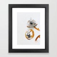 Astromech Beebee-Ate Framed Art Print