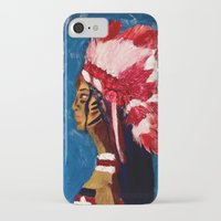 native american iPhone & iPod Cases featuring Native American by Ksuhappy