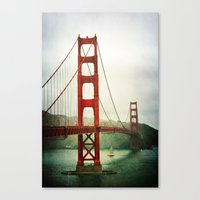 Canvas Print featuring Golden Gate by Lawson Images