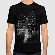 san francisco Mens Fitted Tee Black SMALL