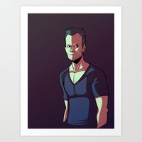 JOEL Art Print