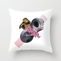 2001 A Space Odyssey Throw Pillow