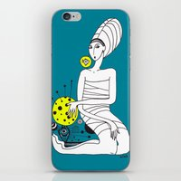 moon iPhone & iPod Skin