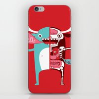 All Monsters Are The Sam… iPhone & iPod Skin