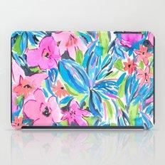 Flaunting Floral Aqua iPad Case
