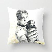 Star Trek: Capt. James T. Kirk Throw Pillow