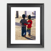 Young Love Framed Art Print
