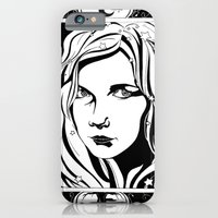 iPhone & iPod Case featuring With Stars In Her Hair by Devin Marie