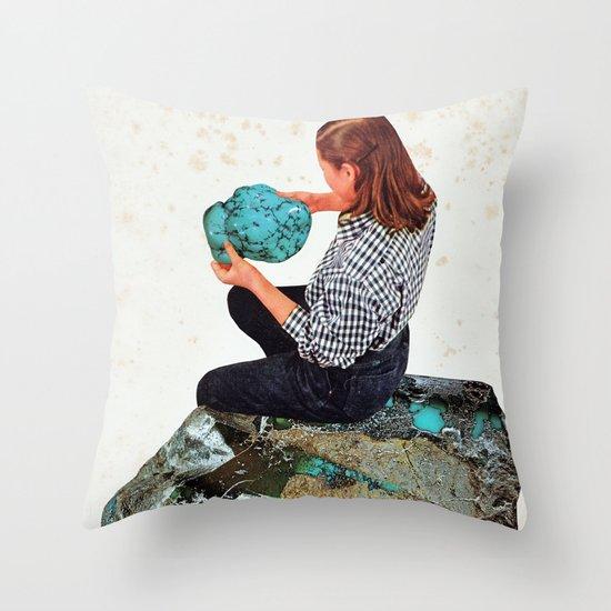 TURQUOISE Throw Pillow