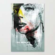 her name is nina Canvas Print