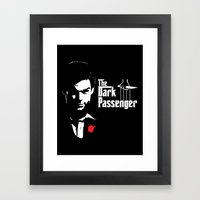 The Dark Passenger Framed Art Print