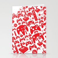 Gaming Love Stationery Cards
