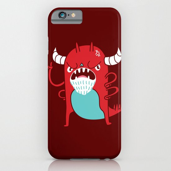 Monster Nagging iPhone & iPod Case