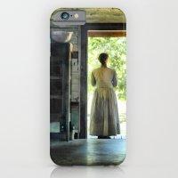 Woman At The Cabin Door iPhone 6 Slim Case