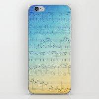 Watercolor Music iPhone & iPod Skin