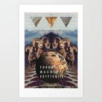 MYSTIC//FORGOTT Art Print