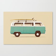 Blue Van Canvas Print