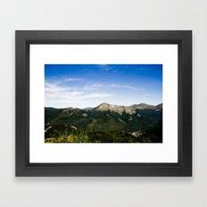 On the Moutain ? Framed Art Print
