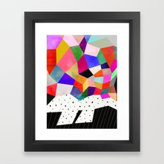 P3 Framed Art Print