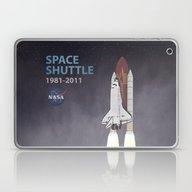 Space Shuttle Laptop & iPad Skin