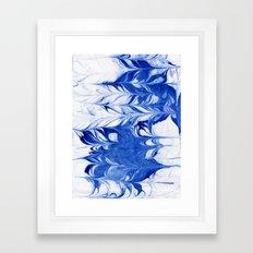 Shigeo - Spilled Ink Abs… Framed Art Print