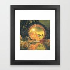The Temlpe Framed Art Print