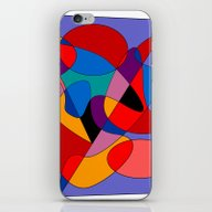 iPhone & iPod Skin featuring Abstract #32 by (RLT)