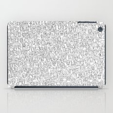 1000 imaginary friends and one bear iPad Case