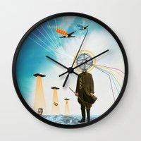 Purification Wall Clock