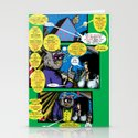 Bird of Steel Comix – 6 of 8 (Society 6 POP-ART COLLECTION SERIES)   Stationery Cards