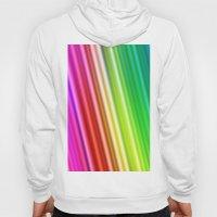 Rainbow Silk Hoody