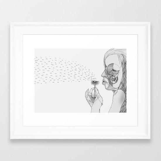 'Dandelion' Framed Art Print